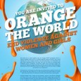 The international campaign Orange the world has started from  25th  November, the International Day for the Elimination of Violence against Women, to 10 December, Human Rights Day, the 16 Days […]