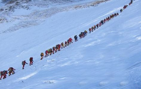 It has been reported that around464 climbers have been scheduled to climb Mt. Everest in the next four days.Opening after 2 years, this season Everest seems to be overcrowded with […]