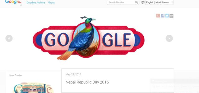 Google Marks Nepal's National Republic day by showcasing the  national bird, Danphe, or the Himalayan Monal in google doodle. Doodles are the fun, surprising, and sometimes spontaneous changes that are […]