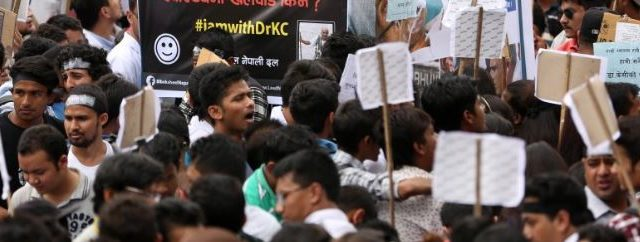 Thousands of supporters and the normal public took it to streets  in Kathmandu to draw the government's attention to the  demands of Dr KC. The Supporter of DR KC organized […]