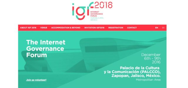 The Internet Governance Forum 2016 which is scheduled to happen from 6 – 9 December 2016 in Guadalajara, Mexico has opened its online registration for participation. The deadline for online […]