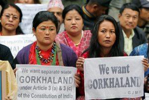 Gorkhaland Movement